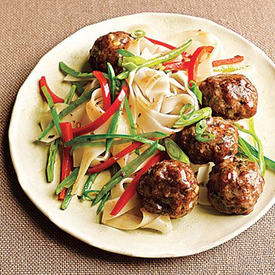 Top-Rated Budget Recipes: Gingery Pork Meatballs with Noodles