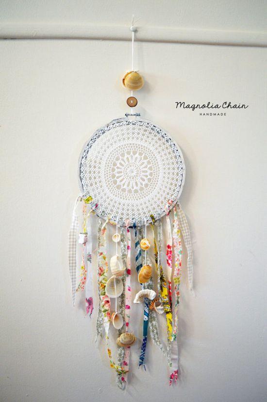 Handmade Dreamcatcher I would love to make one myself :)