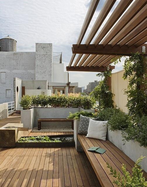 Rooftop Garden, pulltab design