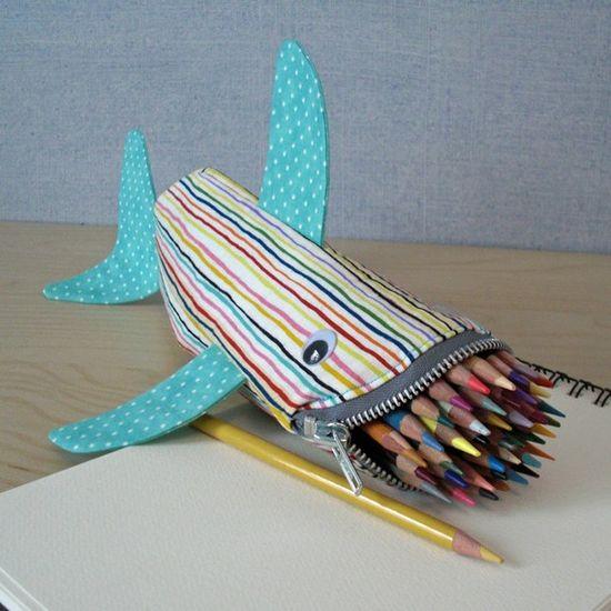 shark pencil bag findanswerhere.co...