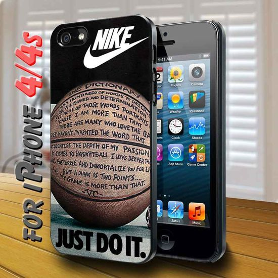 Nike Just Do It Quote Basketball Black