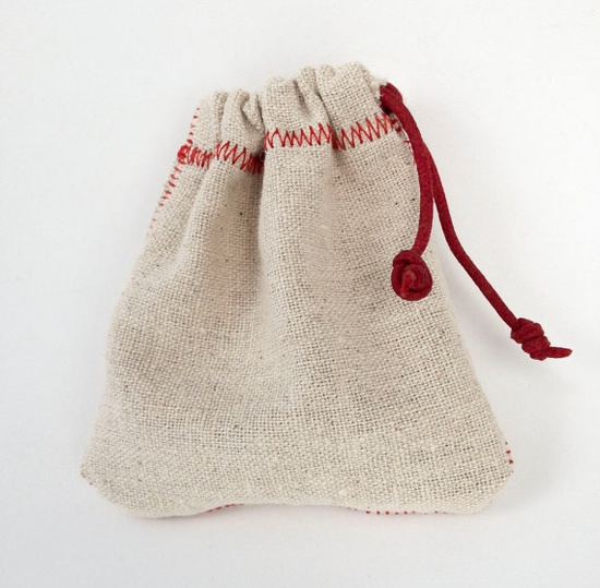 Small Rustic Handmade gift Bags 5 bags by Distlefunk2 on Etsy, $5.99