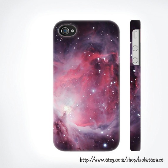 Galaxy Space Pattern iphone case , iphone 5 case , unique iphone case , iphone 4 or 4s case , Plastic Iphone Case , iphone cover. $24.00, via Etsy.
