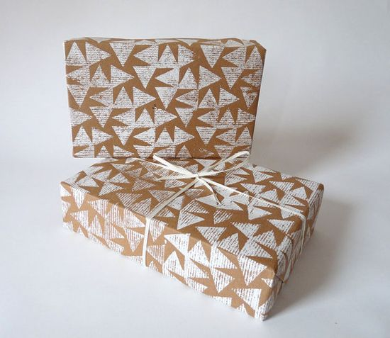 to do list: potato stamp wrapping paper.
