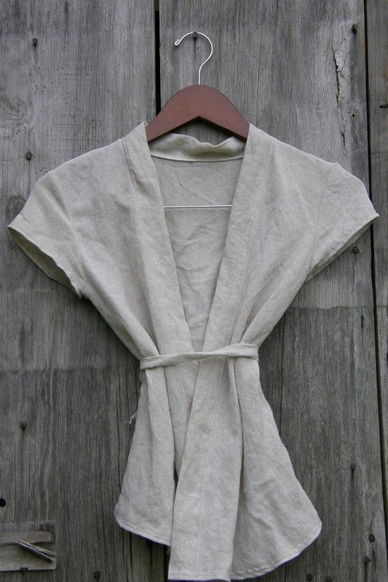 linen wrap..need to make this.