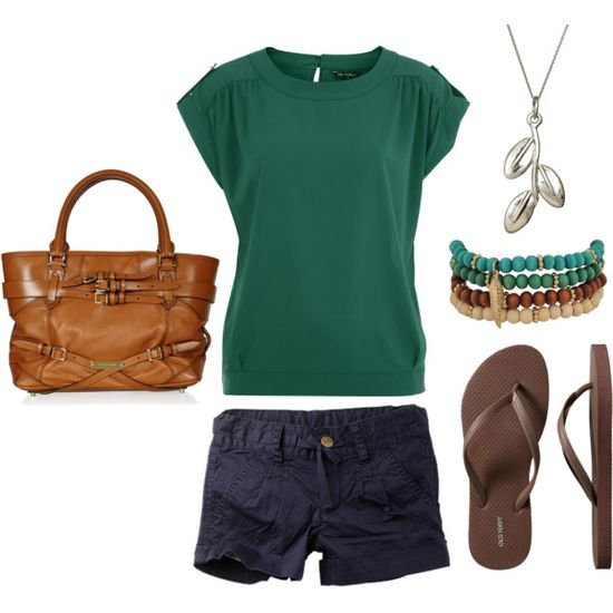 Summer outfit, created by melissa-bachman on Polyvore