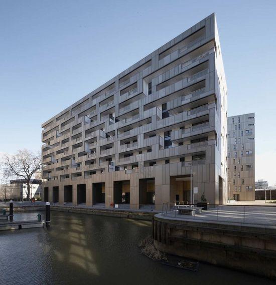 Make Architects - Grosvenor Waterside, London, UK (2009) #house #housing