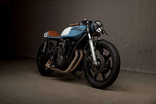 Yamaha XS750 Cafe Racer by Ugly Motorbikes