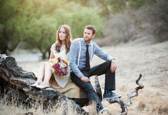 Boho Vintage Style Wedding Inspiration