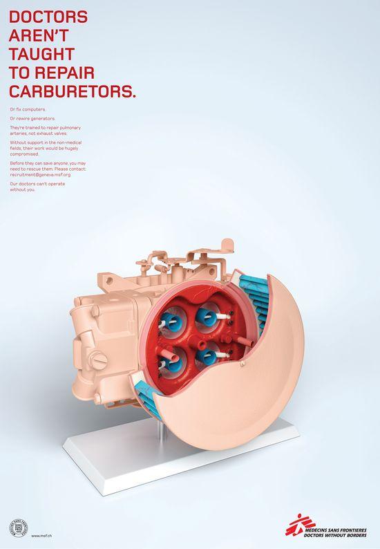 Medecins Sans Frontieres: Carburetor