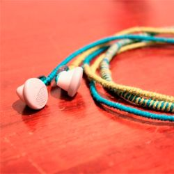 DIY Wrap Headphones- All you need is some colourful string!