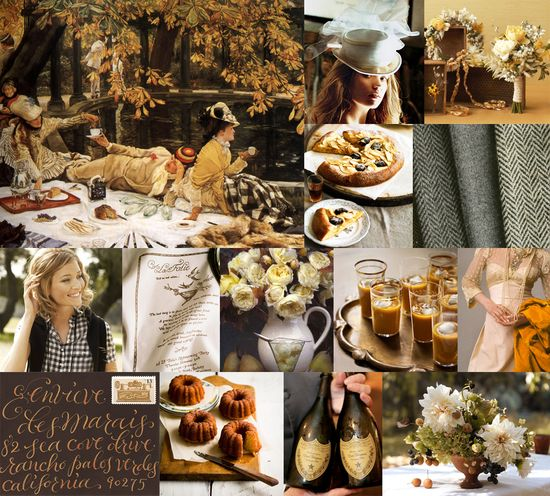 #536 Elegant Autumn Picnic