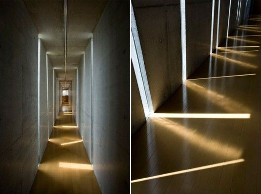 Slit House / Eastern Design Office.. I like how they play with yhe shadow. .