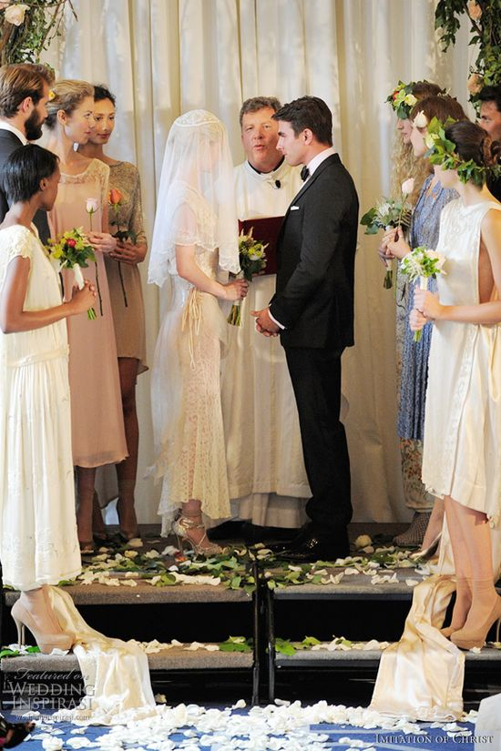 imitation wedding dress spring 2012 @ weddinginspirasi....