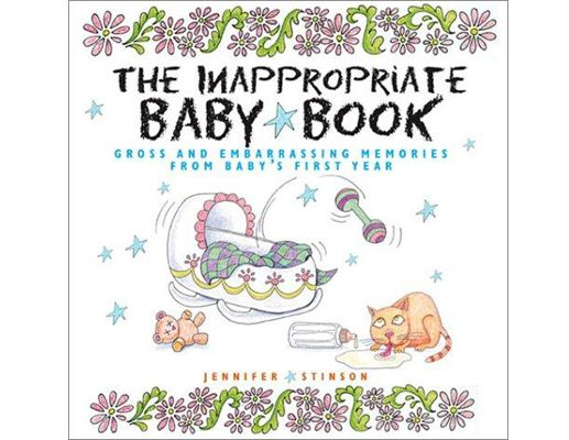 For moms who like to keep it real, this baby book lets you include your craziest moments with baby. $10, Amazon.com