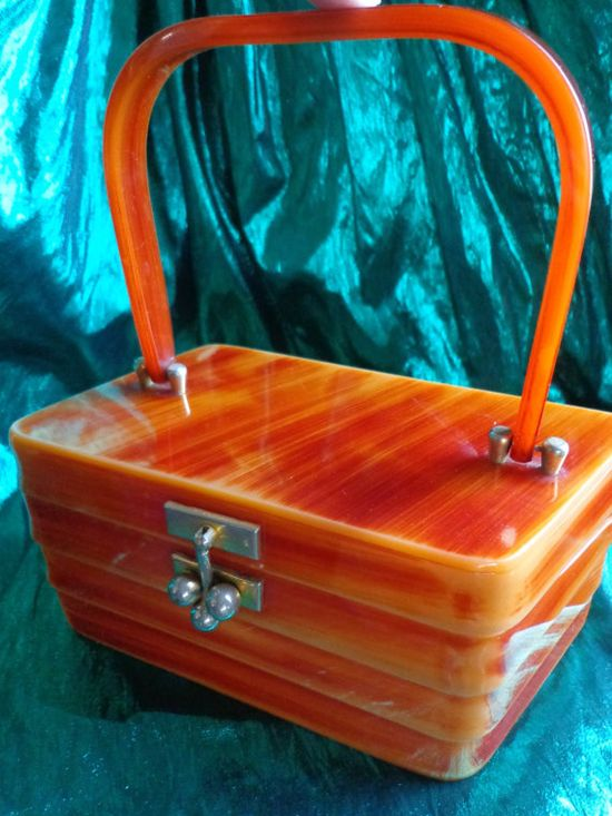 Lovely Lucite purse