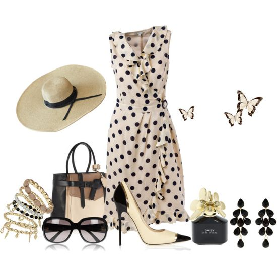 Summer Afternoon, created by dyanjoy on Polyvore