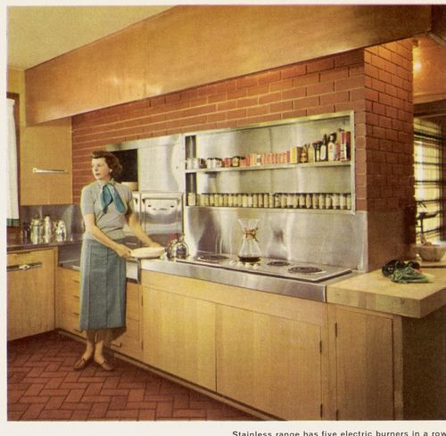 1958 kitchen design.