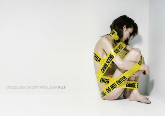 Creative Advertising Against Women Abuse