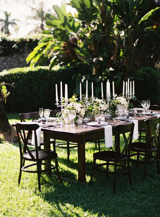 Elegant garden wedding ideas ~ Ozzy Garcia Photography - Wedding Sparrow