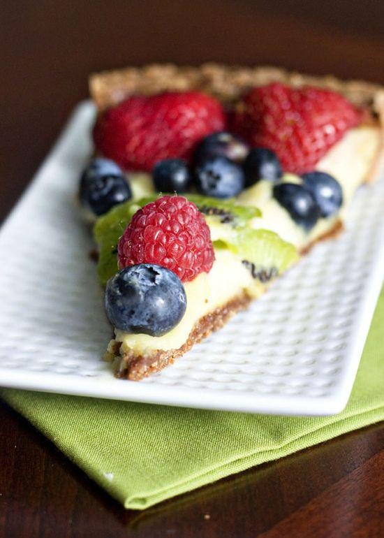 Ericas Sweet Tooth » Fruit Tart with Vanilla Pastry Cream