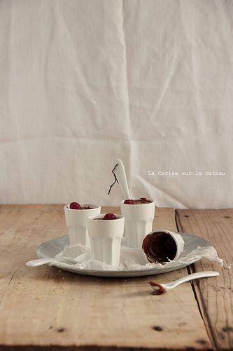 creme021 Petits pots de crèmes au chocolat & au lait d'amande (vegan)