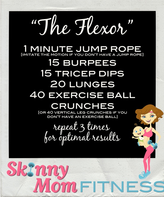 Try this great workout you can do from home!