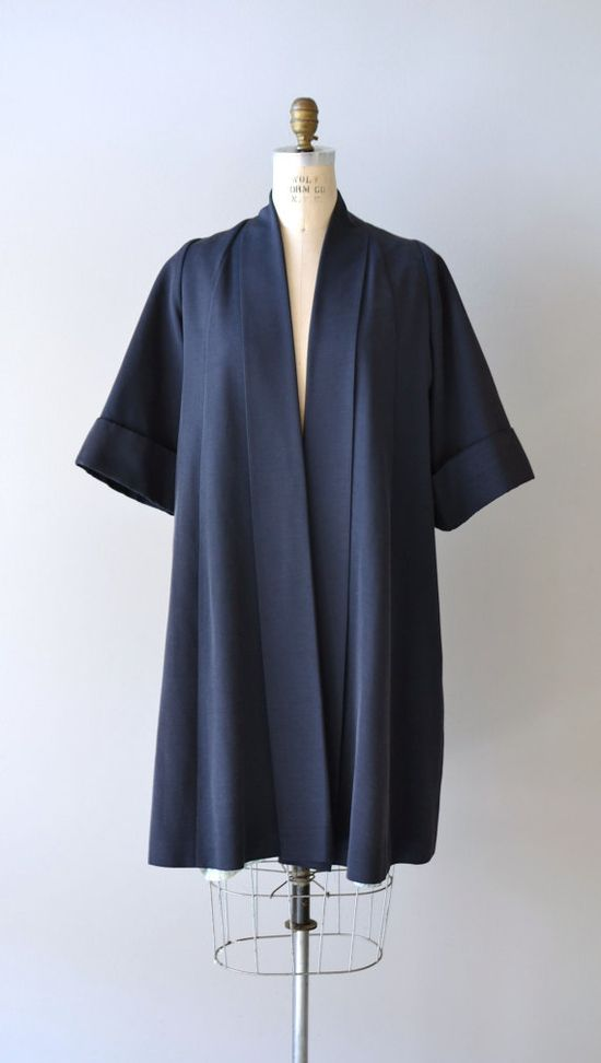 vintage 1950s Bluenote swing coat     #1950s #vintage #vintagecoat