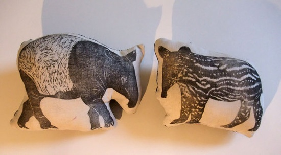 Tapir pillows