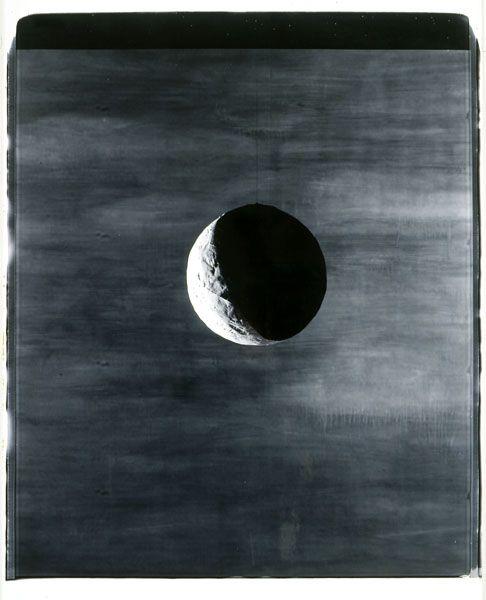 MOON -John Divola large-scale polaroid
