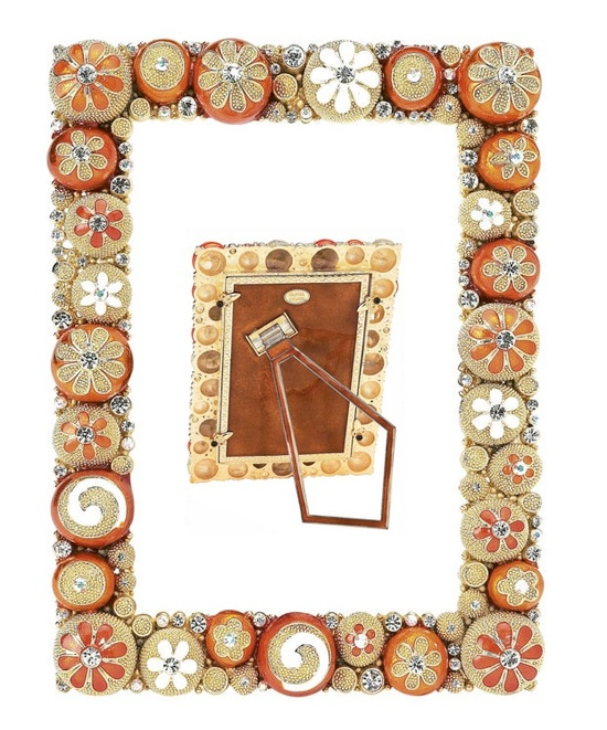 LUXE Swarovski ® Crystal Citrus Photo Frame  Enjoy & Be Inspired More Beautiful Hollywood Interior Design Inspirations To Repin & Share @ InStyle-Decor.com Beverly Hills Happy Pinning