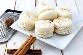 Cooking Recipes Corner: Eggnog Macarons