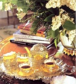 Pretty tea table