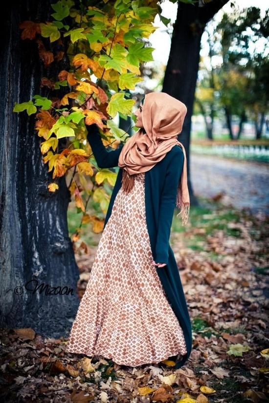 Fall hijabi