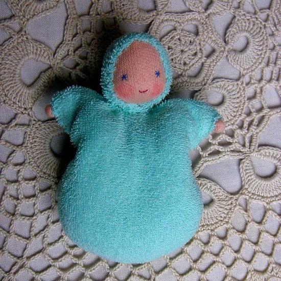 adorable handmade doll