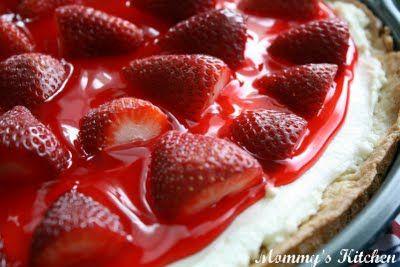 Strawberry Dessert Pizza!