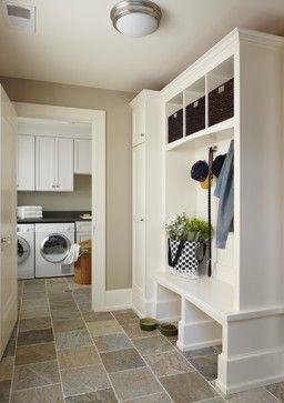 Birmingham mud/laundry room, MI - traditional - laundry room - detroit - MainStreet Design Build