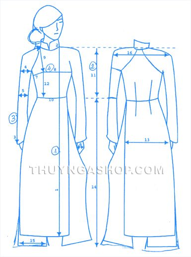 Measurement for Ao Dai
