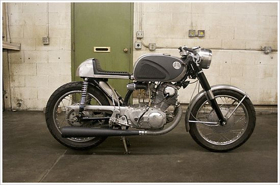 1966 Honda CB77 - Super Hawk 'Café'