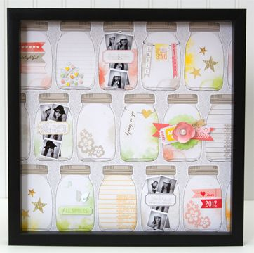 Jar of Memories Layout