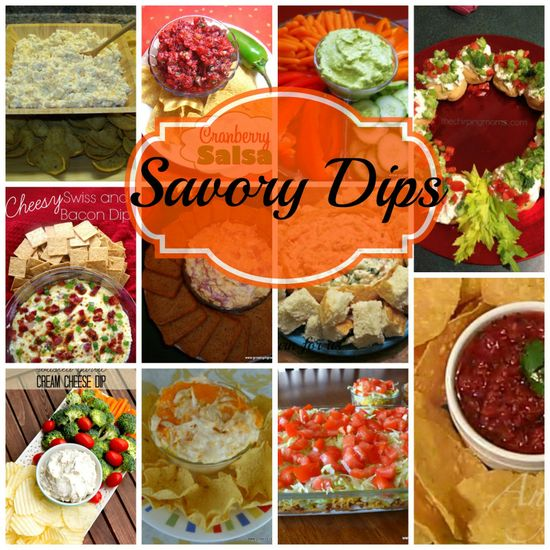 11 savory dip recipes
