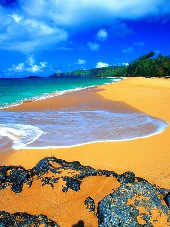 Secret Beach Kauai,Hawaii, USA: