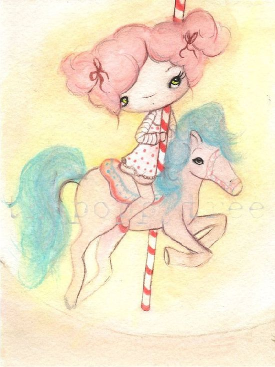 Cotton Candy Carousel
