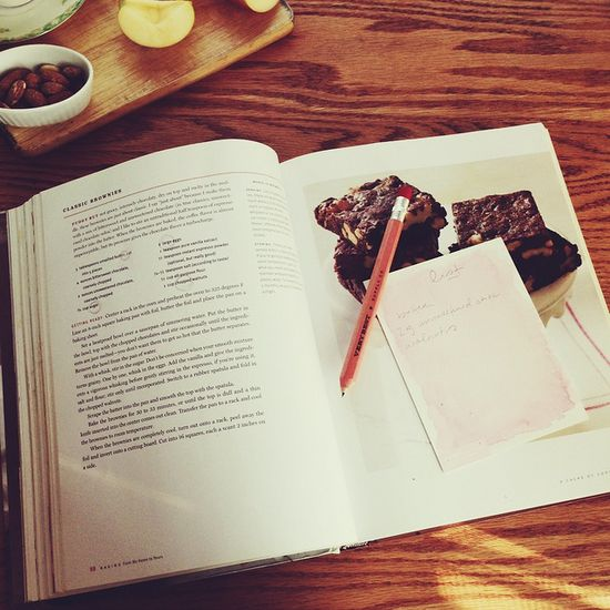 Baking 101:  how to read a recipe.