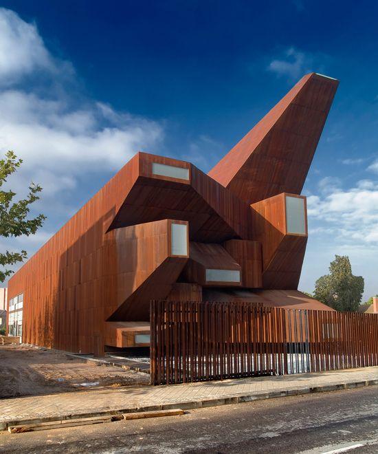parish church of santa monica by vicens & ramos. SPAIN.