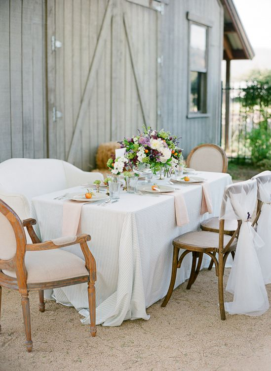 Lavender and Citrus wedding inspiration