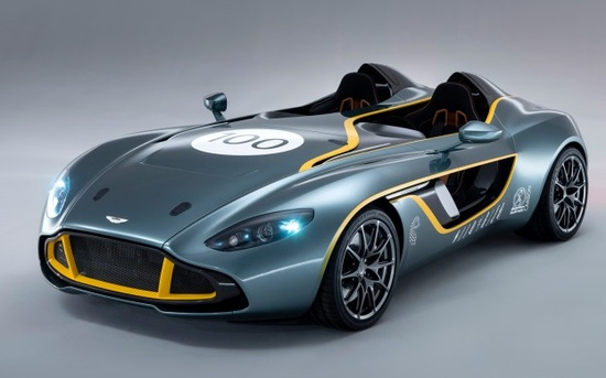 Aston Martin CC100 Speedster Concept Celebrates Brands 100 Years - WOT on Motor Trend