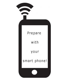 Prepare .... with your smart phone?