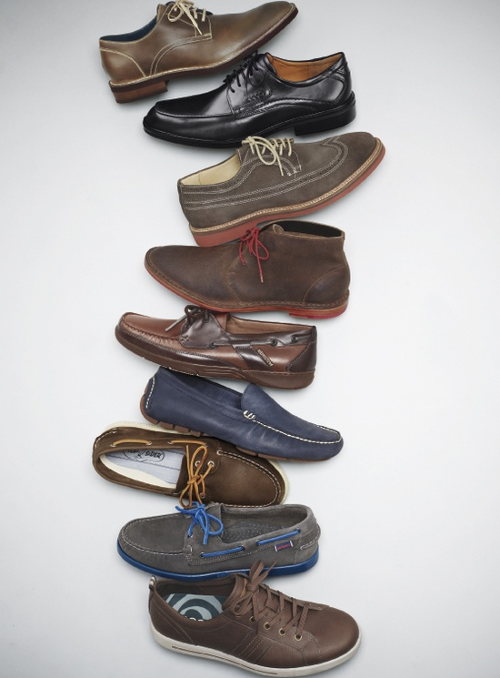 Cole Haan Oxford, Ecco 'Windsor Tie' Oxford, 1901 'Wingman' wingtip, Cole Haan 'Paul' Chukka Boot, Mephisto 'Felix' Moccasin, Polo Ralph Lauren 'Terence' Driving Loafer, Sperry Top-sider 'Authentic Original' Boat Shoe, Sebago 'Spinnaker' Boat Shoe, Ecco 'Androw' Sneaker #Nordstrom