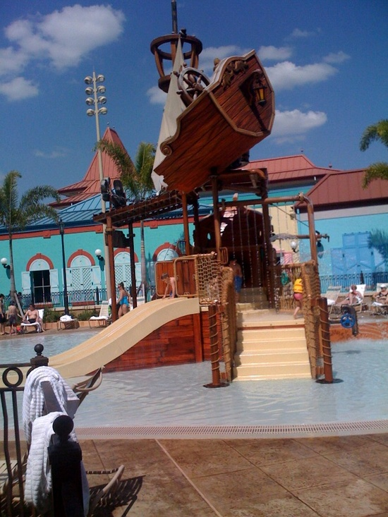 Caribbean Beach Resort Kiddie Area